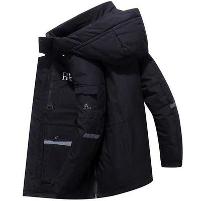 black / XXXL Snowgoose Winter Down Jacket Baron Supply Co