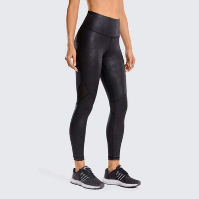 Black01(Mesh) / XXL(US14) unFAUXgettable Yoga Pants Baron Supply Co