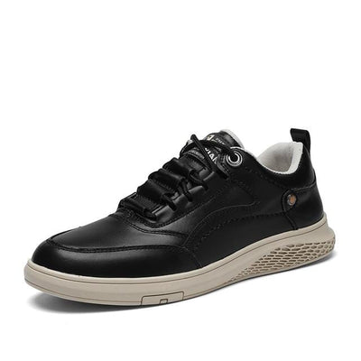 Black911 / 7.5 Vast Genuine Leather Sneaker Electric Solitude