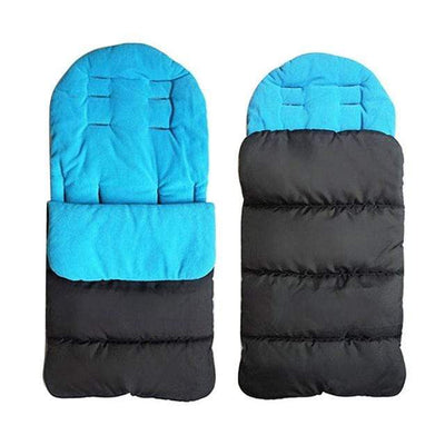 Blue / China Snuggle Bug Sleeping Bag that Dealio