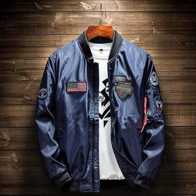 Blue / L Elevation Patch Bomber Baron Supply Co