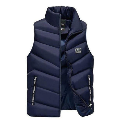 Blue / S Marco Polo Down Vest Baron Supply Co
