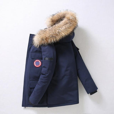 Blue / XXXL Mount Temple Down Filled Parka Baron Supply Co