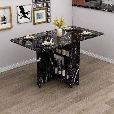 BM195-01 Premier Folding Dining table with Wine Storage imxgine