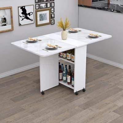 BM195-06 Premier Folding Dining table with Wine Storage imxgine