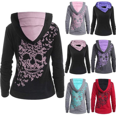 Butterfly Skull Hoodie that Dealio
