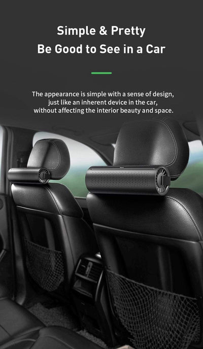 Carbon Crystal Car Air Purifier imxgine