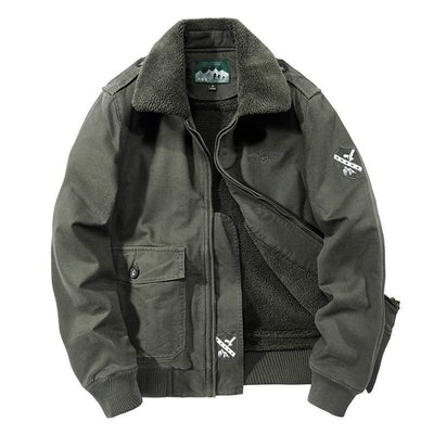 Citizen Renegade Fleece Lined Pilot Jacket Baron Supply Co