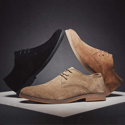 Classic Suede Oxford Genuine Leather Baron Supply Co