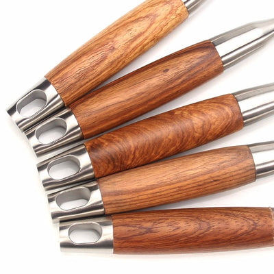 Cooking Utensils, 304 Stainless Steel Kitchen Utensil Set, Rosewood Handle Anti-scald, Best Kitchen Tools  by Leeseph imxgine