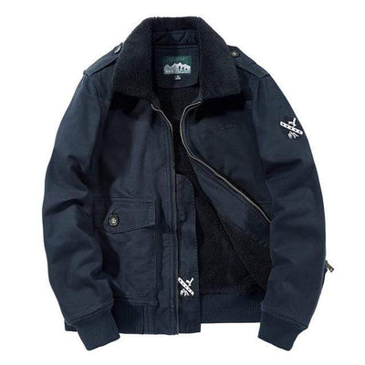 Dark Blue / L Citizen Renegade Fleece Lined Pilot Jacket Baron Supply Co