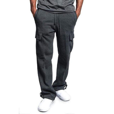 Dark Grey / M Urban Strides Cargo Sweats that Dealio