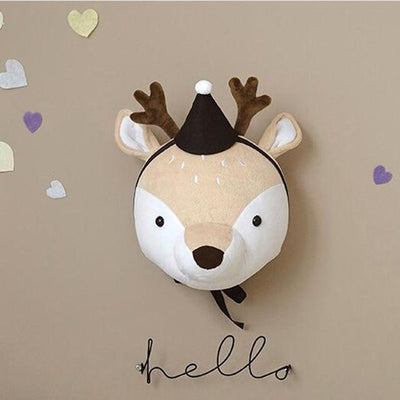 Deer with hat Funkie Munkie Animal Stuffie imxgine