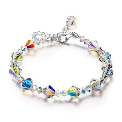 Design 2 Aurora Borealis Crystal Bracelet that Dealio