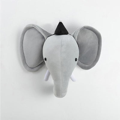 Elephant with hat Funkie Munkie Animal Stuffie imxgine