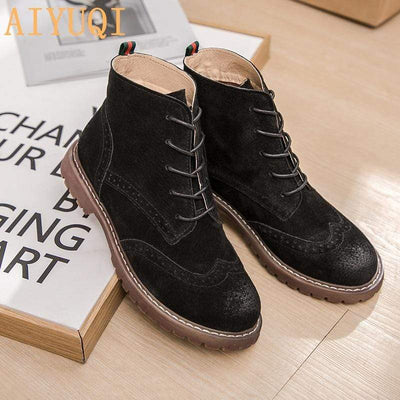 Genuine Leather Boots Baron Supply Co