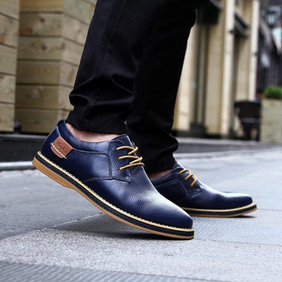 Genuine Leather Supreme Comfort Oxford Shoe Baron Supply Co
