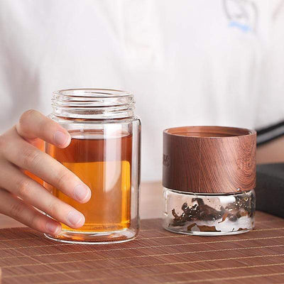 Glass Portable Tea Infuser imxgine