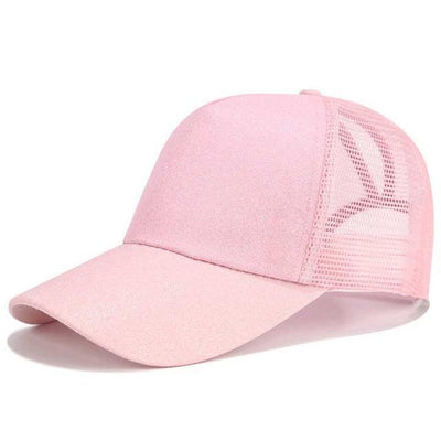 Glitter Pink Official Ponytail Cap™ that Dealio