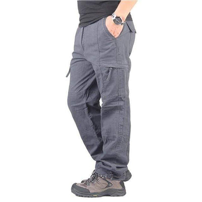gray 2 / XXL Men's Ripstop Relaxed Fit Work Pant Baron Supply Co