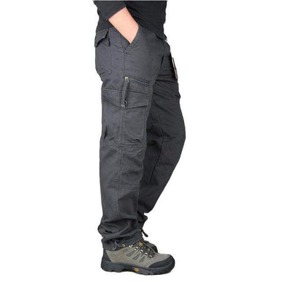 Gray / XXL Men's Ripstop Relaxed Fit Work Pant Baron Supply Co