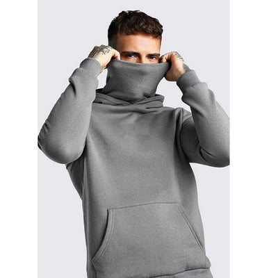 Gray / XXL Ready Hoodie in Fleece Electric Solitude