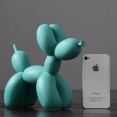 green Balloon Dog Statue imxgine
