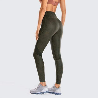 Green March02(Mesh) / L(US8-10) unFAUXgettable Yoga Pants Baron Supply Co