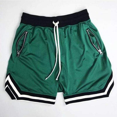 Green / S 80's Classic Gym Shorts Electric Solitude
