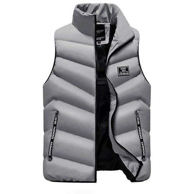 Grey / S Marco Polo Down Vest Baron Supply Co
