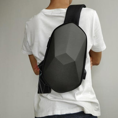 grey TechnoPack Waterproof Backpack imxgine