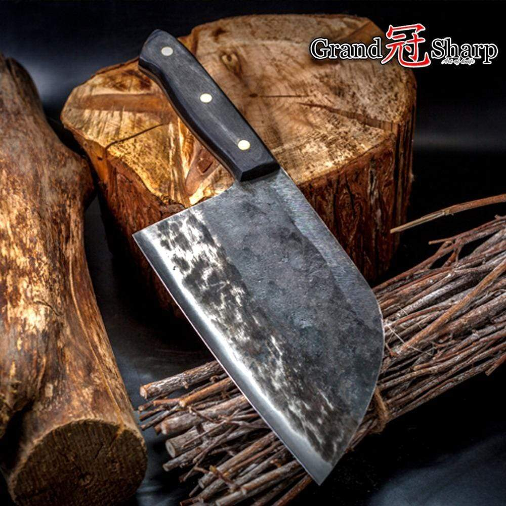 Handmade Forged Chef Cleaver imxgine