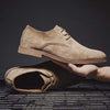 Khaki / 12 Londoner Suede Derby Shoe Baron Supply Co