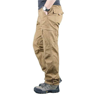khaki 2 / XXXL Men's Ripstop Relaxed Fit Work Pant Baron Supply Co