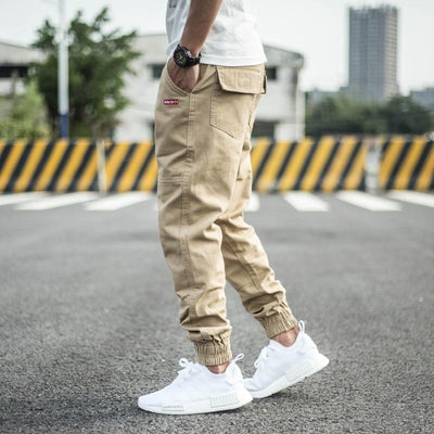 Khaki / 40 New Streetwear Joggers Electric Solitude