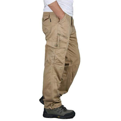 Khaki / L Men's Ripstop Relaxed Fit Work Pant Baron Supply Co