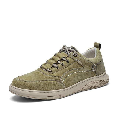 Khaki911 / 7 Vast Genuine Leather Sneaker Electric Solitude