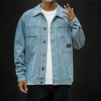 Light blue / 2XL Tokyo Denim Jacket that Dealio
