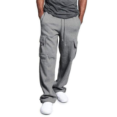 Light Grey / M Urban Strides Cargo Sweats that Dealio