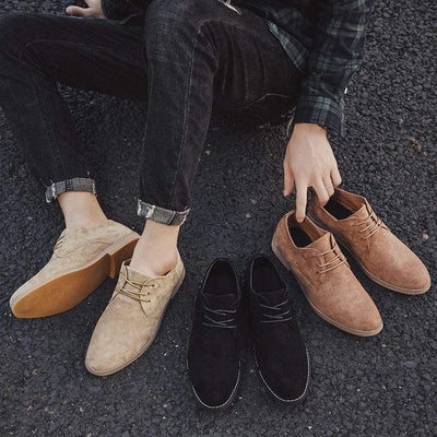 Londoner Suede Derby Shoe Baron Supply Co