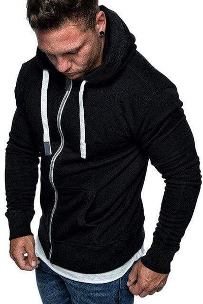 Men's Hoodies Black / 2XL Max Flex Essential Hoodie Baron Supply Co