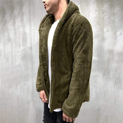 Men's Hoodies Urban Teddy Hoodie that Dealio