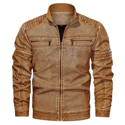 Men's Jackets Angels Leather Biker Jacket Baron Supply Co