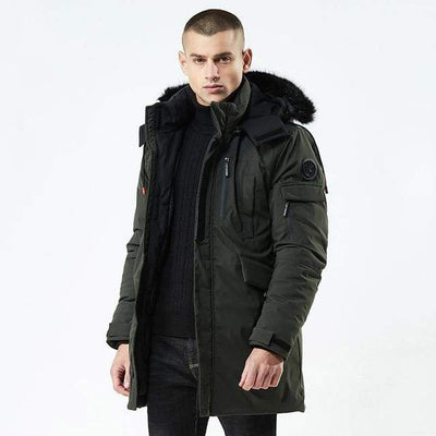 Men's Jackets Army Green / M Arctic Traveler Parka that Dealio