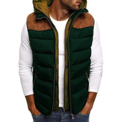 Men's Jackets Army Green / S Wonder Puffer Vest that Dealio