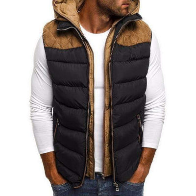 Men's Jackets Black / S Wonder Puffer Vest that Dealio