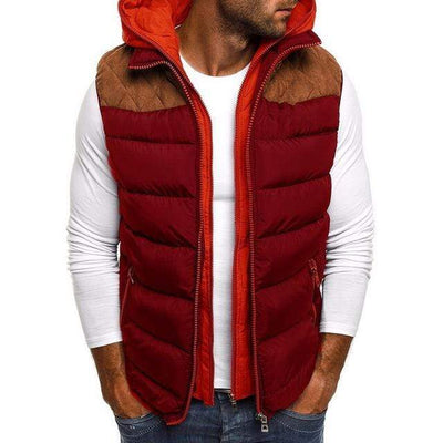 Men's Jackets Red / S Wonder Puffer Vest that Dealio