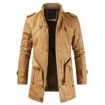 Men's Jackets The London Leather Jacket Baron Supply Co