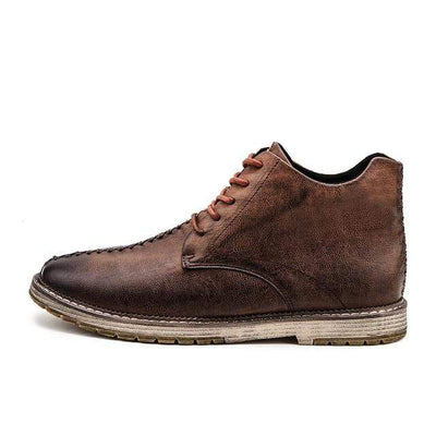 Men's Shoes Light Brown / 6.5 Niko Genuine Leather Shoes that Dealio