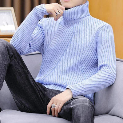 Men's Sweaters Leo Soft Knit Turtleneck Baron Supply Co